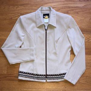 Zip front Career jacket ladies 8